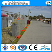construction site temporary decorative fencing