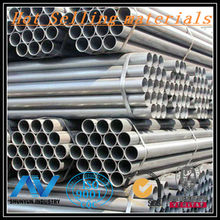 Diameter ,203 ID Round pipe galvanized steel pipe in China