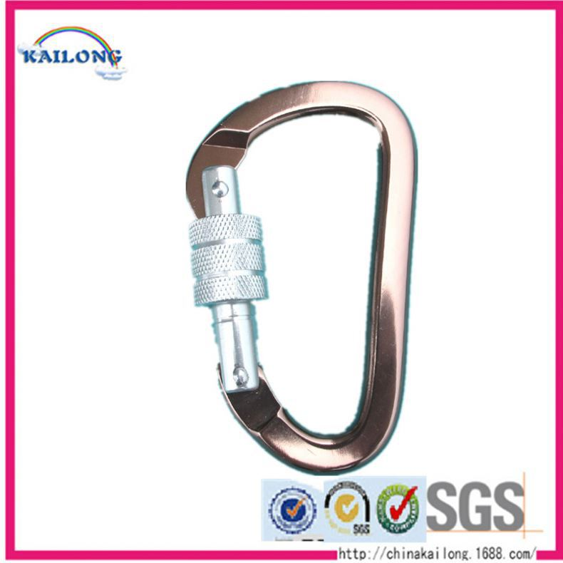 Standard Size And Shape Karabiner Or Carabiner