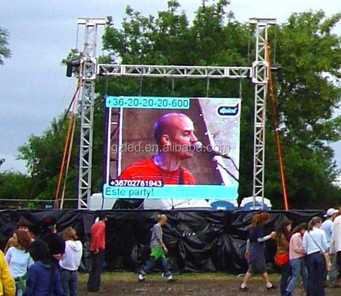 P4 outdoor rental LED display