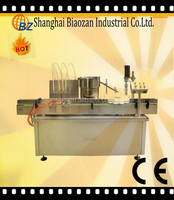 Factory price fully automatic bottle summer air freshener filling capping machine