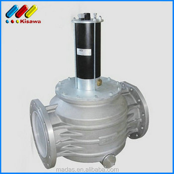 High Quality Natural Gas Pneumatic Madas Solenoid Valve