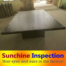 Supply social audit & quality inspection in coffee table set & tea table quality control agent & Leisure Rattan Chairstables QC