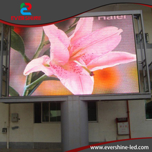 p10 outdoor full color led display, Outdoor waterproof LED advertising video wall