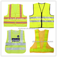 CY 100% Polyester Visibility Vest Safety Work Wear Custom Wholesale