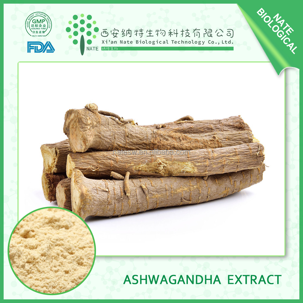 Lowest Price Pure Nature Plant Extract Powder Free Samples 20% Ashwagandha Root Extract