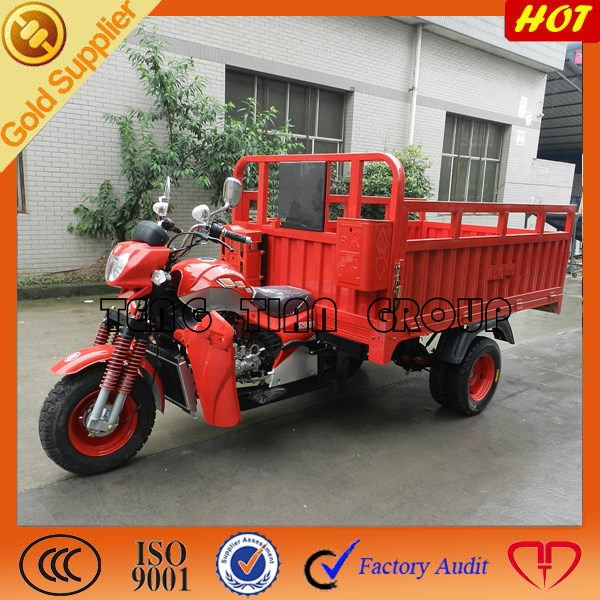 high performance gasoline cargo motorcycle/three wheel motorcycle/high quality DUCAR tricycle on sale