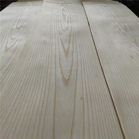 American decorative white ash natural wood veneer mdf