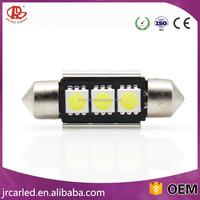 Car Festoon C5W Canbus Error Free 3 SMD 5050 LED 31mm 36mm 39m 3SMD Car interior lights lamp bulb Dome