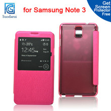 Smart Case Battery Cover for Samsung Galaxy Note 3 Mix color Factory price