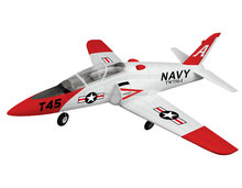 Small Size Remote Control Aircraft Red Drone 2.4G Rc Airplane Goshawk T45 EDF JET 750-1