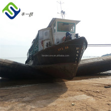 Barge launching China made boat roller airbag for ship