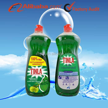 Tinla concentrated apple dish washing liquid/ detergent factory