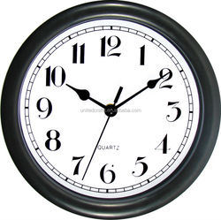 Fancy Plastic Glass Design Home Decoration Wall Clock