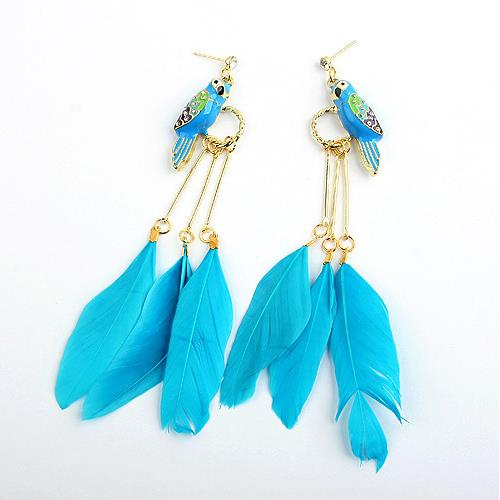 85813 Wholesale lady beautiful indian cheap long feather earrings85813 Wholesale lady beautiful indian cheap feather earrings