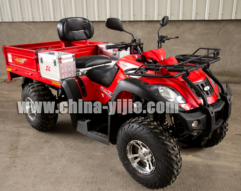 HOT SELL UTILITY FARM ATV WITH CARGO BOX