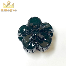 Lovely Mini Flower Colors Small Mini Plastic Hair Claw Clips For Girls