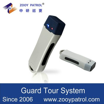 2015 New Product China Supplier Built-in Rechargeable Battery Powered Guard Patrol System