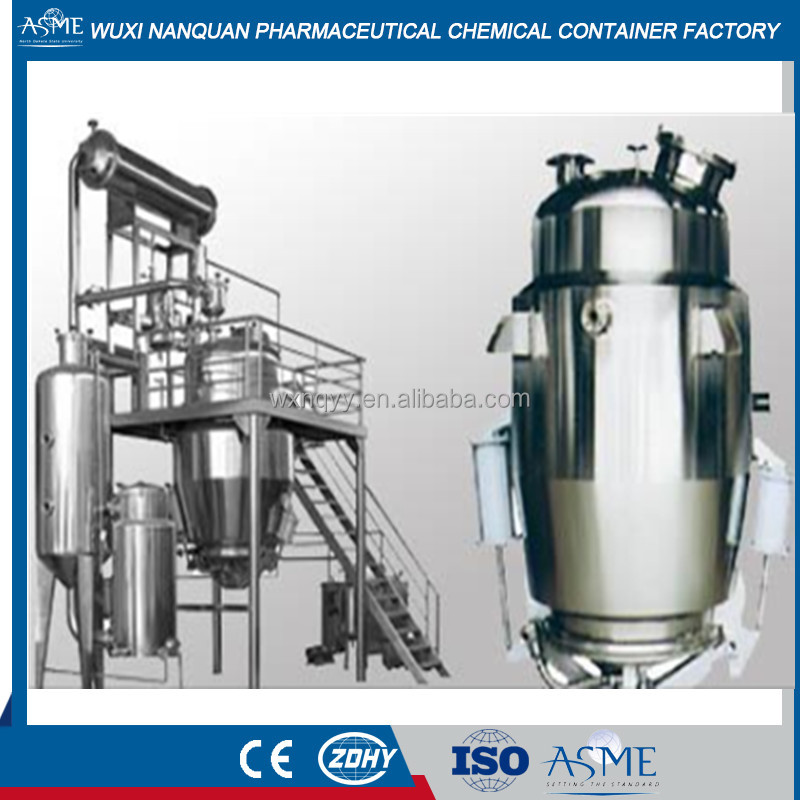 multifunctional extraction tank/chemical extractor