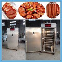 146 fish meat industrial smokers/smoke oven/meat smoking machine