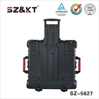 Plastic Equipment case with wheels
