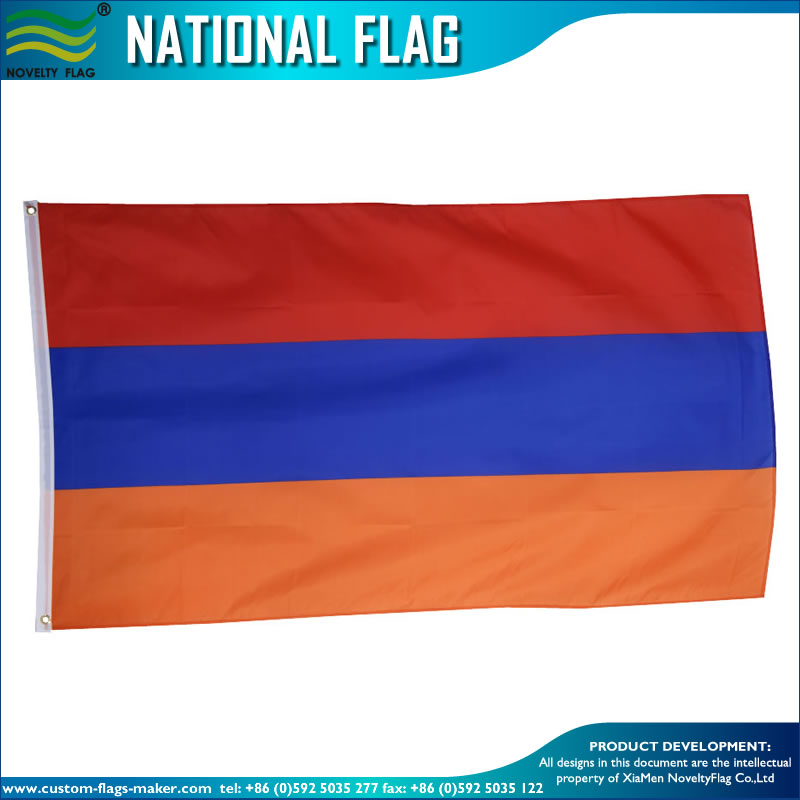 3x5ft Polyester armenia national flag