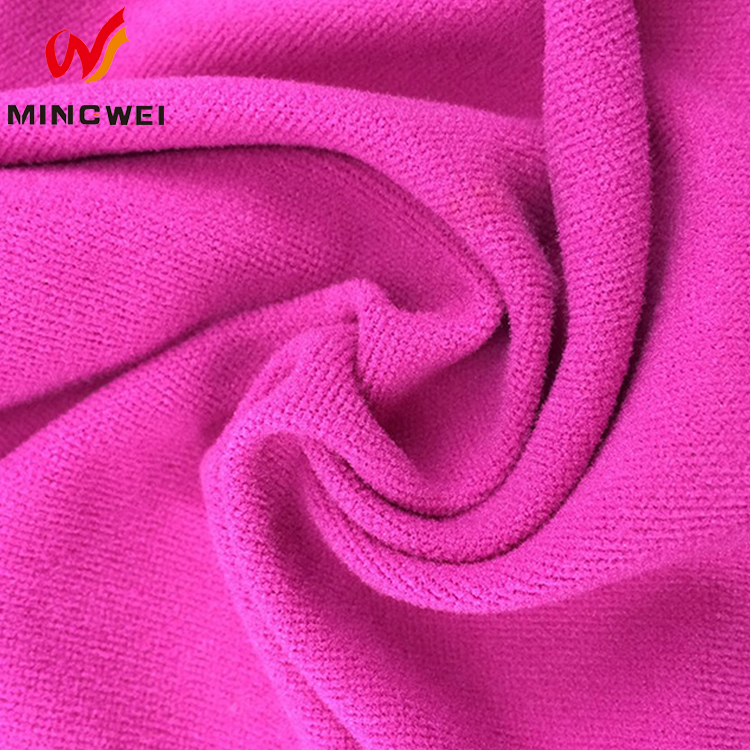 factory price China supplier used clothing new design burnout silk velvet fabric