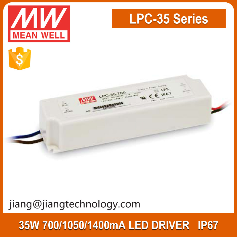 Meanwell LPC-35 Series 700mA Constant Current Led Driver 35w Single Output Switching Power Supply LPC-35-700