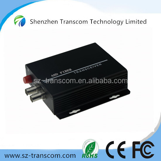 2Ch AHD Video over Fiber Converter for 720P, 1080P/1Ch 720P/960P/1080P HD-CVI/AHD/TVI Converter