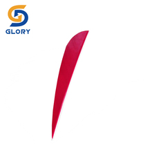 High quality right wing parabolic unicolor arrow feather