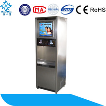 stainless steel reverse osmosis direct drinking water vending machine/popular style
