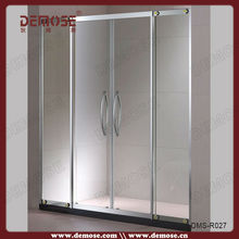 corner shower bath cabin/glass shower screens for home