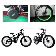 Central motor motorized bicycle 26 inch fat tire electric dirt bike