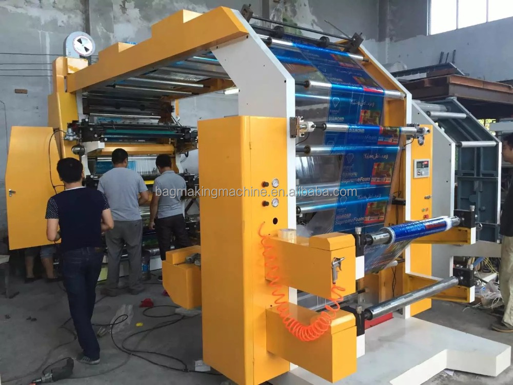 high speed Money Printing Machine/Flexographic Printing Machine for t-shirt bag printing machine prices