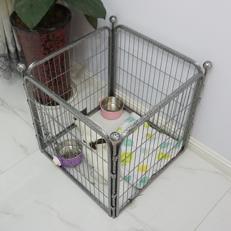 home high quality metal wire pet play pen dog fence small enclosure