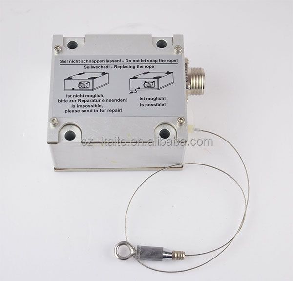 Wirtgen milling machine displacement sensor for milling machine