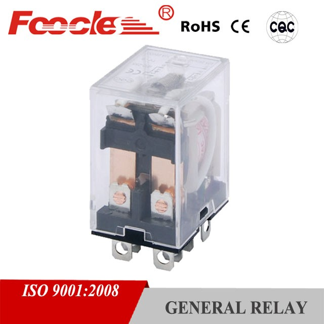 yueqing electric universal parts mini 10a 250vac ly power pcb relay