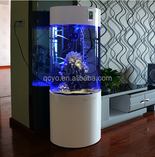 List manufacturers of cylinder fish tank buy cylinder for Cylindrical fish tank