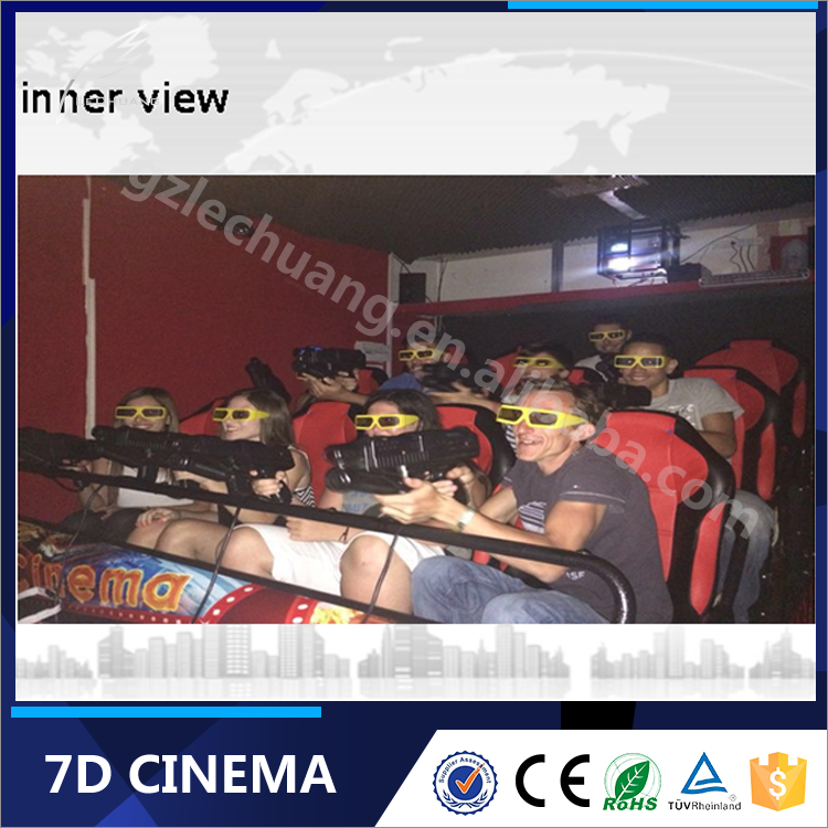 Shooting Arcade Game Machine 7D Cinema 9D Cinema Supplier 12D Mobile Cinema Factory