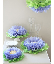Fashion Tissue paper pom flowers 14 inch