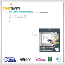 TOPTEAM NEW MAGIC BOARD SERIES Peel & Stick Whiteboard Sheets self adhesive wrapping paper double sided adhesive film