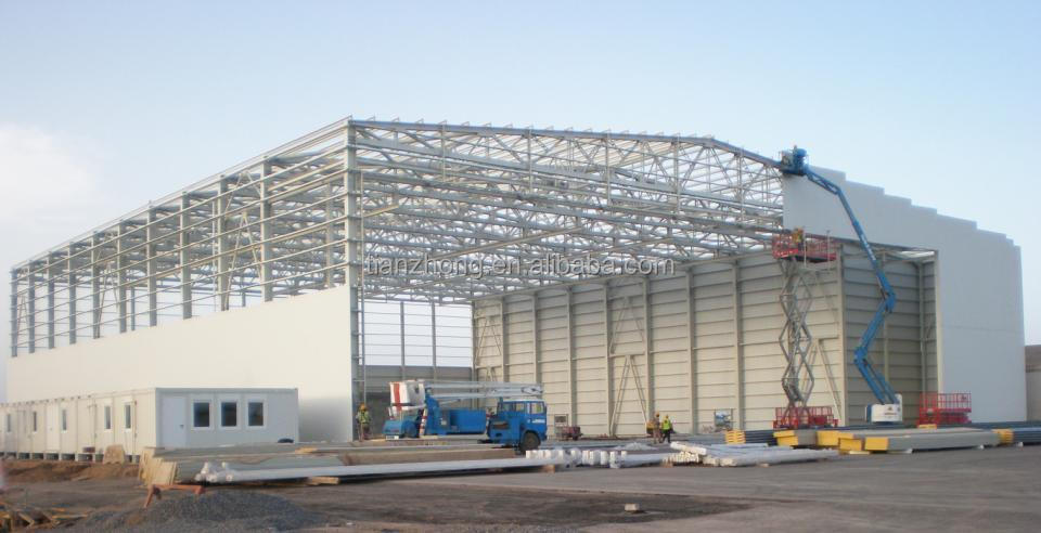 large span custom steel super structure
