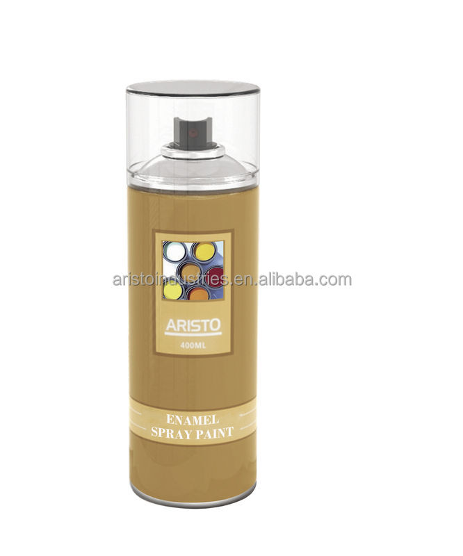 Colorful Enamel Acrylic Spray Paint Liquid Coating Prevents Rust