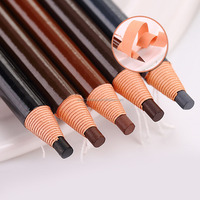 Multi-color korea waterproof peel off eyebrow pencil factory 1818