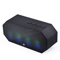 Bluetooth Speakers Hi-Fi Portable Wireless Stereo Speaker with 7 LED Visual Modes and Build-in Microphone Support Hands-free