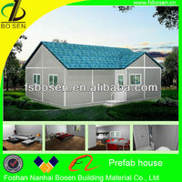 well designed modern prefab shop,module housing,prefab villa
