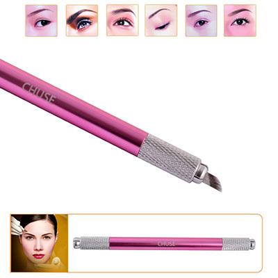 CHUSE Professional Permanent Makeup Microblading Eyebrow Tattoo Pen Double Side