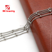 304 stanless steel chain for floating locket and pendant.