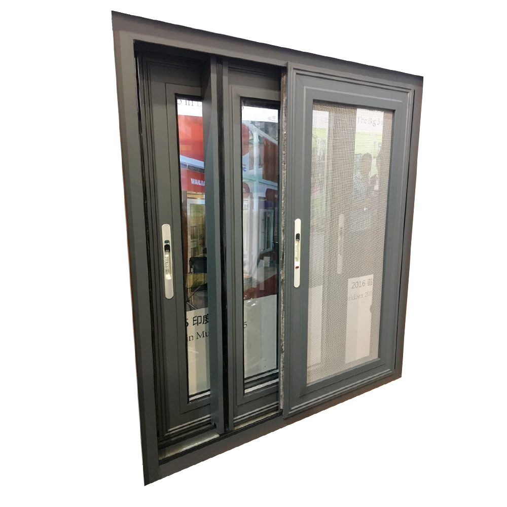 70 series Aluminum sliding used commercial windows