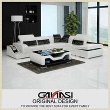 GANASI italian furniture123 combinations,cowhide italian sofa,sofa designer furniture